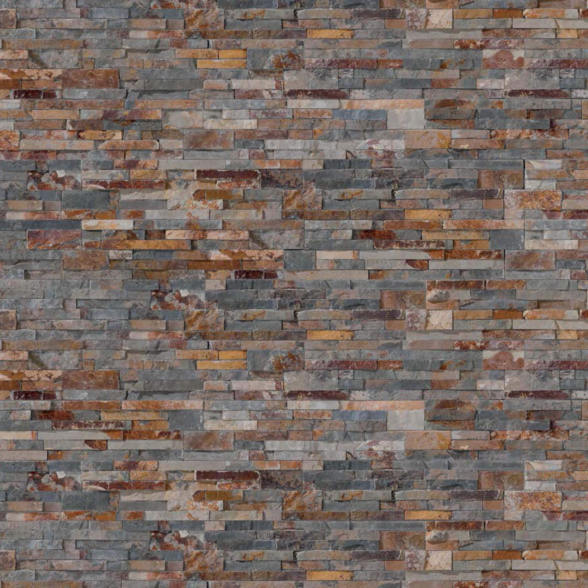 Paneles - Pared interior de piedra ...